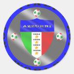Luxury Italian Soccer world champions logo Stickers