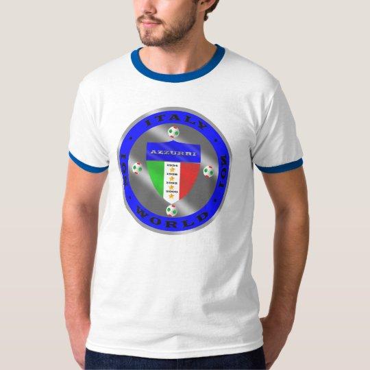 Luxury Italian Soccer world champions logo T-Shirt
