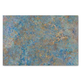 "Luxury Lapis Lazuli Marble 10"" X 15"" Tissue Paper"