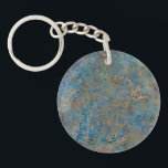 "Luxury Lapis Lazuli Marble Keychain<br><div class=""desc"">A sophisticated,  luxurious stylish design of lapis lazuli blue and gold flecked marble.</div>"