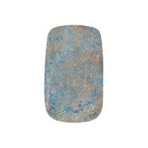 Luxury Lapis Lazuli Marble Minx Nail Wraps