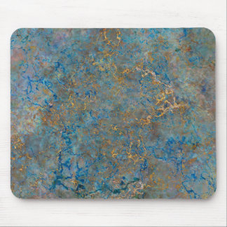 Luxury Lapis Lazuli Marble Mouse Pad