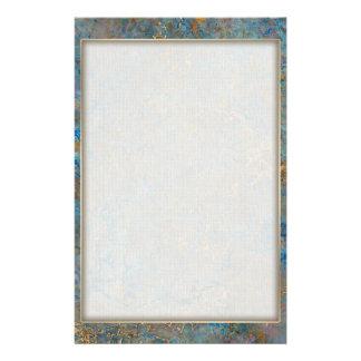 Luxury Lapis Lazuli Marble Custom Stationery