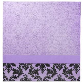Luxury Lavender Elegant Damask Napkins