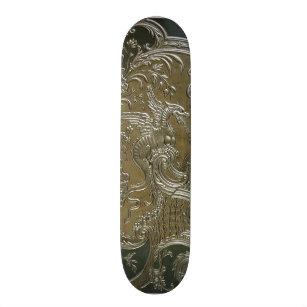 Elefantenhaut Matt leather skateboard decks zazzle