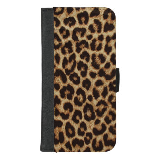 Luxury Leopard Skin Print iPhone 8/7 Plus Wallet Case