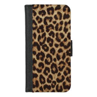 Luxury Leopard Skin Print iPhone 8/7 Wallet Case