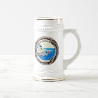 Luxury Liner Porthole View Mugs