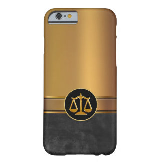 Luxury Men's Attorney Theme Barely There iPhone 6 Case