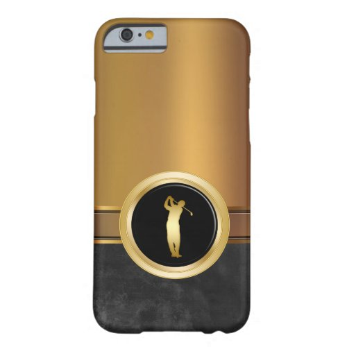 Luxury Men's Golf Theme Phone Case