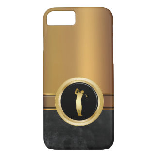 Luxury Men's Golf Theme iPhone 7 Case