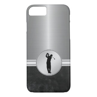 Luxury Men's Golf Theme iPhone 7 Case