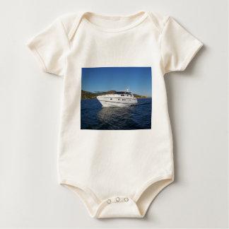 Luxury Motor Boat Baby Bodysuit