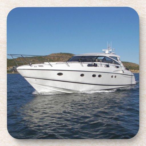 Luxury Motor Boat Drink Coasters