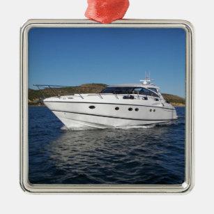 Cabin Cruiser 2 Boat Ornament
