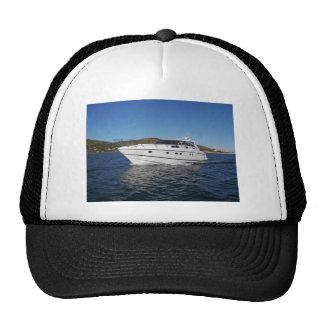 Luxury Motor Boat Trucker Hat