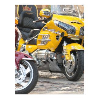 Luxury motorbikes flyer