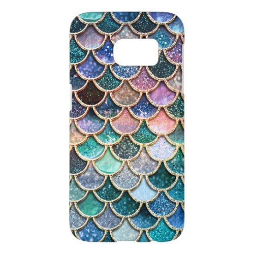 Luxury multicolor Glitter Mermaid Scales Phone Case