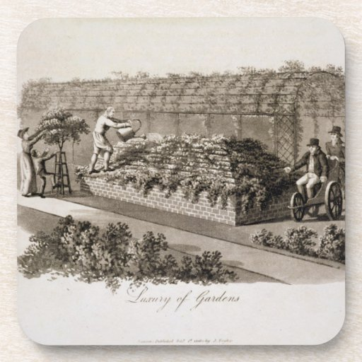 Luxury of Gardens, from 'Fragments on the Theory a Drink Coaster