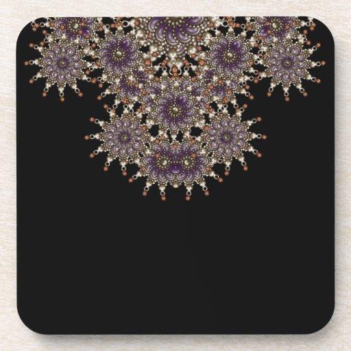 Luxury Ornament Artwork Drink Coasters