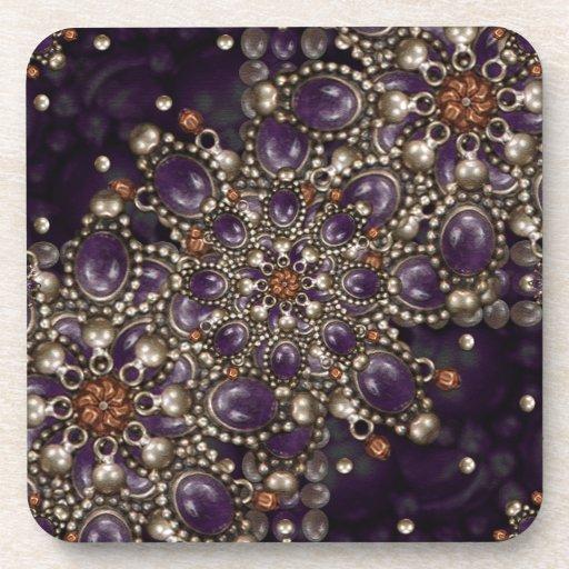 Luxury Ornament Artwork Coasters