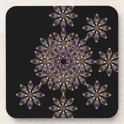 Luxury Ornament Artwork Coaster