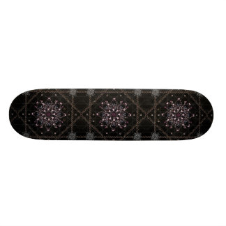 Luxury Ornament Artwork Skateboard
