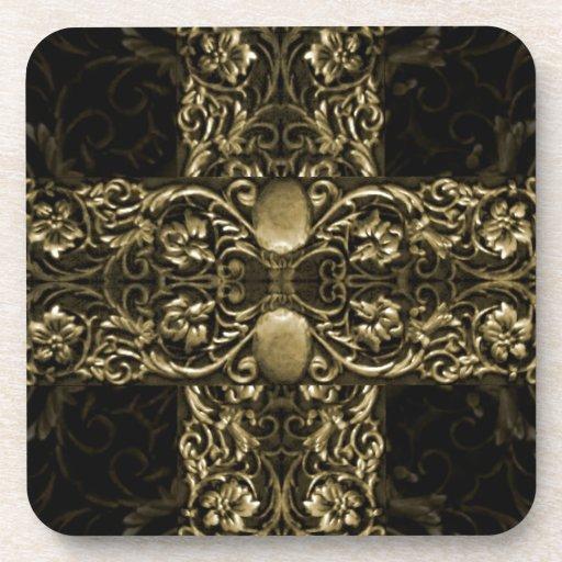 Luxury Ornamental Artwork Drink Coaster