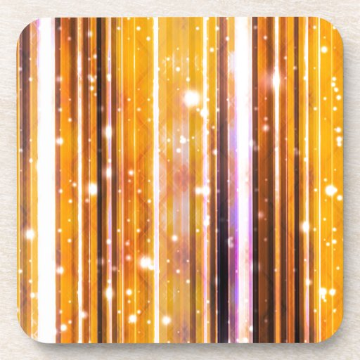Luxury Party Dreams Futuristic Abstract Design Coasters