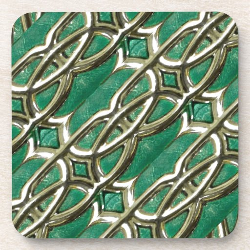 Luxury Photo Collage Artwork Coasters