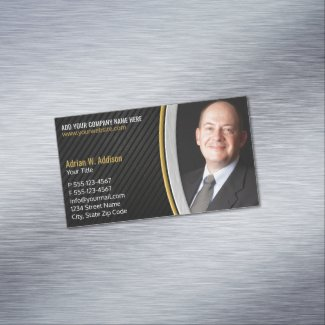 Luxury Photo professional Best Lawyer Consultant Business Card Magnet