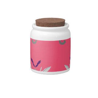 Luxury pink elements Nostalgia Candy Dish