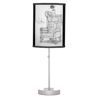 Luxury, Pleasure, and Convenience, Table Lamp