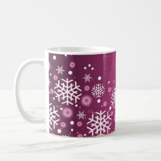 Luxury Purple Christmas Spirit Mug