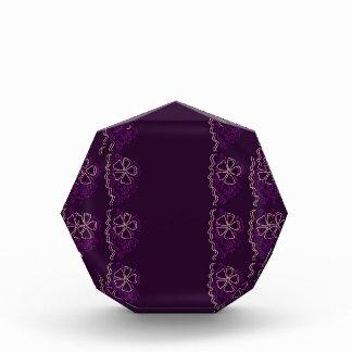 Luxury purple Lace. Ornaments Award
