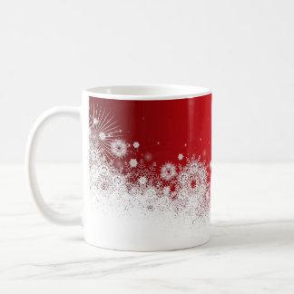 Luxury Red Christmas Lace Mug