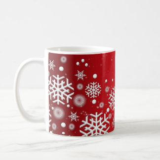 Luxury Red Christmas Spirit Mug