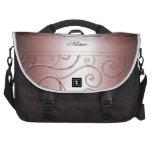 Luxury Red Damask Swirls Laptop Bag Bag For Laptop