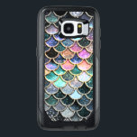 "Luxury silver Glitter Mermaid Scales OtterBox Samsung Galaxy S7 Edge Case<br><div class=""desc"">Wonderful silver and colorful Mermaid Design I created from more than 130 different layers, colors and textures. Hope you like it.</div>"