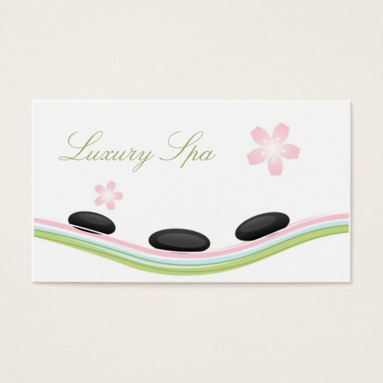 Luxury Spa Business Card