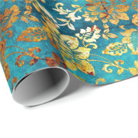 Luxury Square Design Wrapping paper