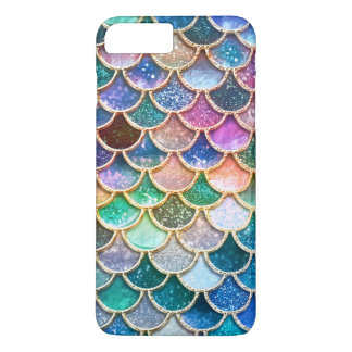 Luxury summerly multicolor Glitter Mermaid Scales iPhone 8 Plus/7 Plus Case