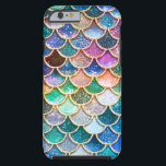 "Luxury summerly multicolor Glitter Mermaid Scales Tough iPhone 6 Case<br><div class=""desc"">Wonderful summerly Mermaid Design I created from more than 130 different layers, colors and textures. Hope you like it.</div>"