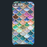 """Luxury summerly multicolor Glitter Mermaid Scales Tough iPhone 6 Case<br><div class=""""desc"""">Wonderful summerly Mermaid Design I created from more than 130 different layers, colors and textures. Hope you like it.</div>"""