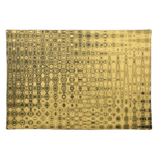 Luxury table set gold placemat