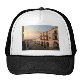 Luxury Themed, A Picture Of A Luxury Hotel And Its Trucker Hat