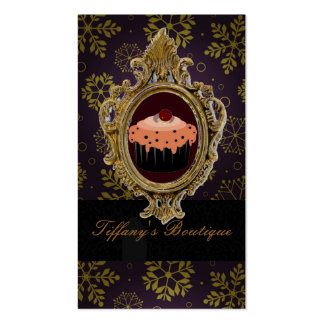 Luxury Victoria  Boutique Cafe Business card