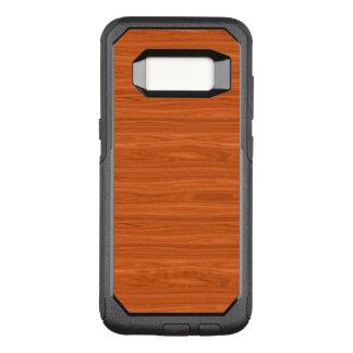 Luxury Wood Grain  Look OtterBox Commuter Samsung Galaxy S8 Case