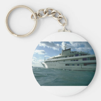 Luxury yacht keychain