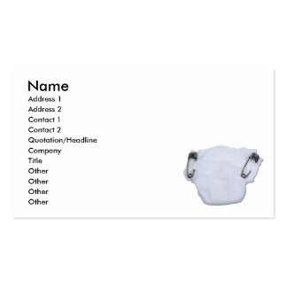 LuxuryBaby090810, Name, Address 1, Address 2, C... Double-Sided Standard Business Cards (Pack Of 100)